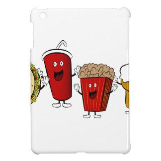 タコスのファースト・フードのマンガのキャラクタ iPad MINIカバー