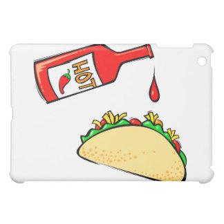 タコスのホットソースの点滴注入 iPad MINIケース