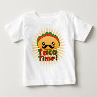 タコスの時間 ベビーTシャツ