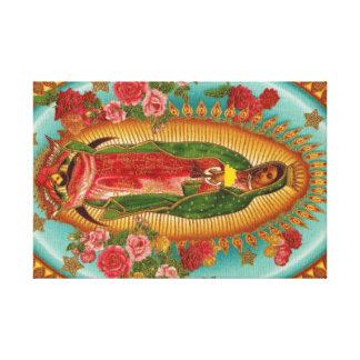 タコスの聖者のキャンバスのプリント キャンバスプリント