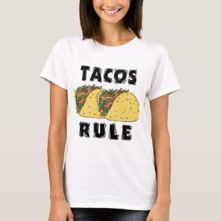 タコスの規則の女性Tシャツ Tシャツ