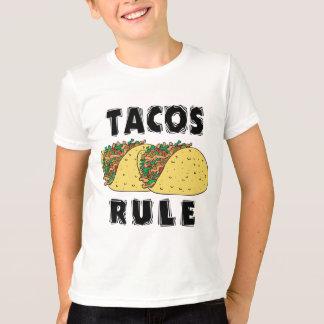 タコスの規則の子供 Tシャツ