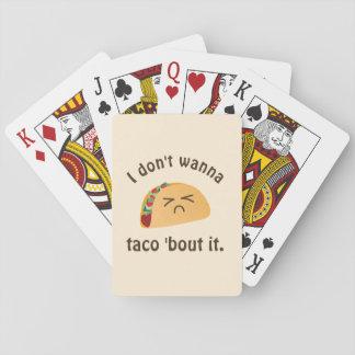 タコスの「一続きそれおもしろいな言葉遊びの食糧しゃれのユーモア トランプ