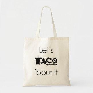 タコスの「一続きはそれトート トートバッグ