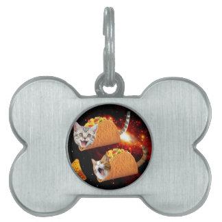 タコス猫の宇宙 ペットネームタグ