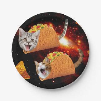 タコス猫の宇宙 ペーパープレート