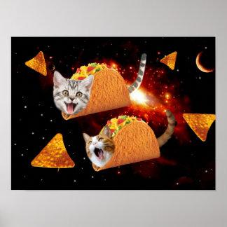 タコス猫の宇宙 ポスター