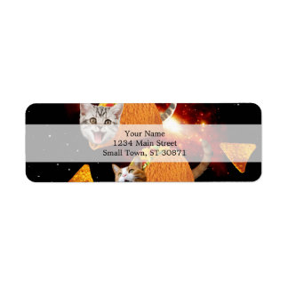 タコス猫の宇宙 ラベル