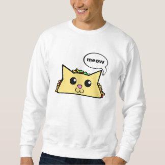 タコス猫 スウェットシャツ