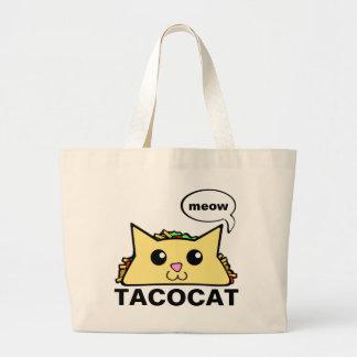 タコス猫 ラージトートバッグ