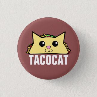 タコス猫 3.2CM 丸型バッジ