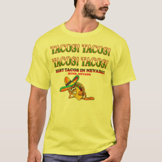 タコス! タコス! タコス! タコス! Tシャツ