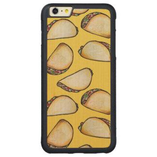 タコス CarvedメープルiPhone 6 PLUSバンパーケース