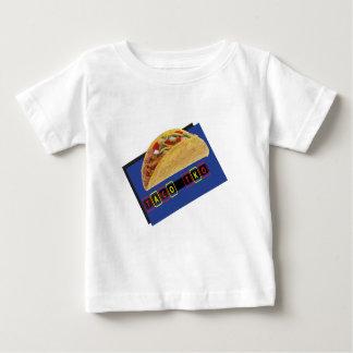 タコスTKOのクラシックなタコスのデザイン ベビーTシャツ
