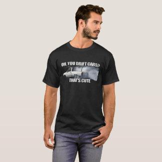 タコマ市の漂流のトラックのミームの暗闇 Tシャツ