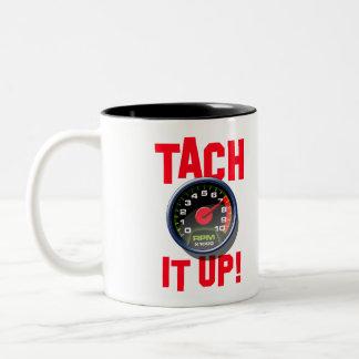 タコメーターそれコーヒー・マグ ツートーンマグカップ