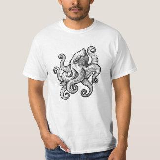 タコ(入れ墨のデザイン) Tシャツ