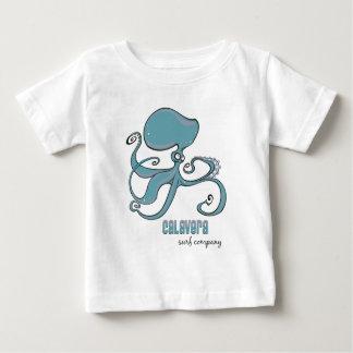 タコ- Calaveraの波Co.の子供 ベビーTシャツ
