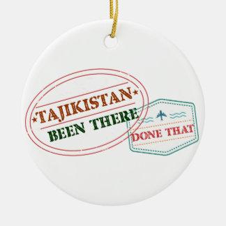 タジキスタンそこにそれされる セラミックオーナメント