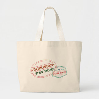タジキスタンそこにそれされる ラージトートバッグ