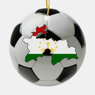 タジキスタンのフットボールのサッカーのオーナメント セラミックオーナメント