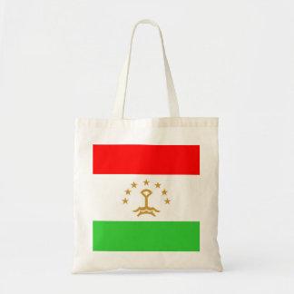 タジキスタンの国旗の国家の記号 トートバッグ