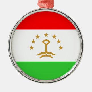 タジキスタンの国旗の国家の記号 メタルオーナメント