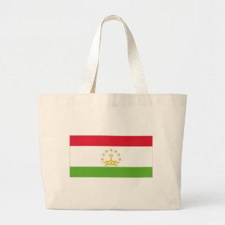 タジキスタンの国旗 ラージトートバッグ