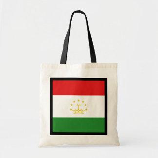 タジキスタンの旗のバッグ トートバッグ