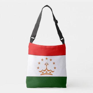 タジキスタンの旗 クロスボディバッグ
