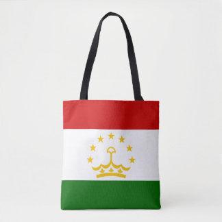 タジキスタンの旗 トートバッグ