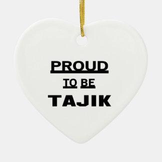 タジク語があること誇りを持った セラミックオーナメント