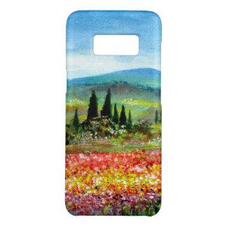 タスカニーの景色のカラフルな花分野の春 Case-Mate SAMSUNG GALAXY S8ケース