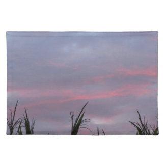 タスカニーの田舎日没 ランチョンマット