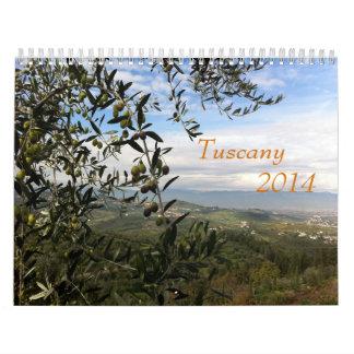 タスカニー2014のカレンダー カレンダー