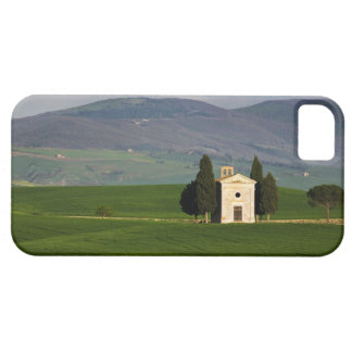タスカニー、イタリアのValのd'Orcia、Pienzaのチャペルの iPhone SE/5/5s ケース