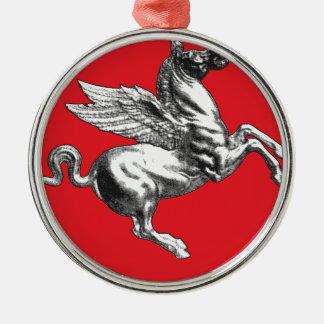 タスカニー(イタリア)の紋章付き外衣 メタルオーナメント