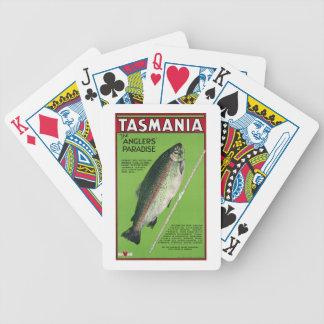 タスマニアの~釣り人の楽園 バイスクルトランプ
