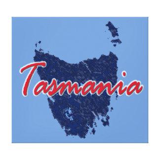 タスマニア キャンバスプリント