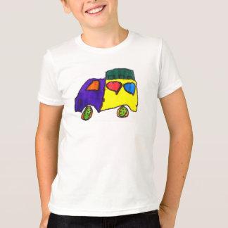 タップのトラックのワイシャツを叩いて下さい Tシャツ