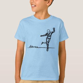 タップダンスのティー(子供) Tシャツ