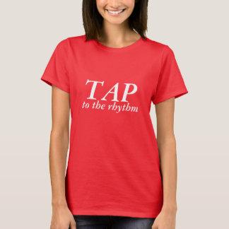 タップダンスのワイシャツ Tシャツ