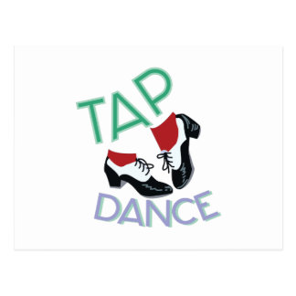 タップダンス ポストカード