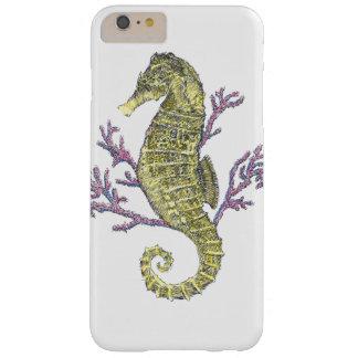 タツノオトシゴおよび珊瑚 BARELY THERE iPhone 6 PLUS ケース
