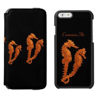 タツノオトシゴのダンス(オレンジ) INCIPIO WATSON™ iPhone 5 財布型ケース