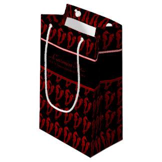 タツノオトシゴのダンス(赤い) スモールペーパーバッグ