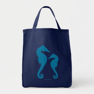 タツノオトシゴのバッグ トートバッグ