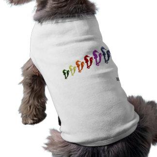 タツノオトシゴのポップアート1のダンス ペット服