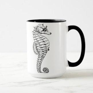 タツノオトシゴのマグ マグカップ