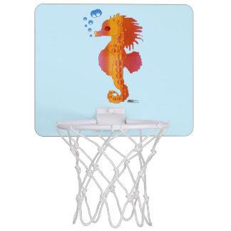 タツノオトシゴの泡ベビー ミニバスケットボールゴール